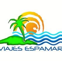 Logotipo Viajes Espamar. Um projeto de Design de JoSECArlos Martínez         - 18.04.2012