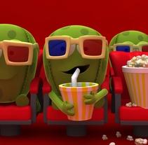 Clones. Um projeto de Cinema, Vídeo e TV, 3D, Animação, Vídeo e TV de Ignacio Mendizabal         - 19.04.2016