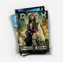 Revista Prox estrenos. Un proyecto de Diseño, Br, ing e Identidad y Diseño editorial de estudiodavinci  - 24-04-2016