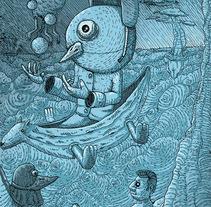 Ilustración CCUTlaltelolco. A Illustration project by Miguel Angel Montaño Martínez         - 27.04.2016