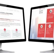 P&F Contadores. A Web Design project by As Diseño Diseño Web Monterrey         - 29.04.2016