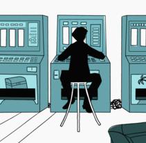 Máquinas en tu cabeza. Un proyecto de Cine, vídeo, televisión, Animación y Bellas Artes de Alicia Fernández Sánchez - 24-04-2016