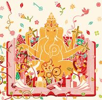 Ganesha. Un proyecto de Diseño, Ilustración, Diseño editorial y Bellas Artes de Carlos Arrojo - 30-04-2012