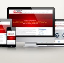 Sitio Web eQDZ Pro. A Web Development project by As Diseño Diseño Web Monterrey         - 02.05.2016