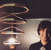 Tale & Gest, , lámpara artesanal con estilo actual. Um projeto de Design de produtos de Cristina Cánovas         - 14.12.2014