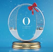 The Oprah Magazine . Un proyecto de Ilustración, 3D y Dirección de arte de Jose Checa         - 05.01.2016