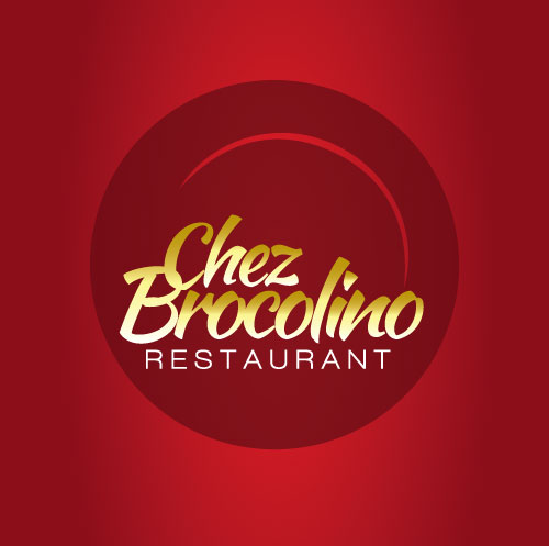 logo chez brocolino restaurant domestika