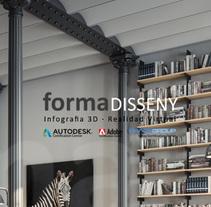 LOFT BCN imágenes virtuales 3d. Un proyecto de Diseño, 3D, Arquitectura interior e Infografía de Forma Disseny         - 10.05.2016