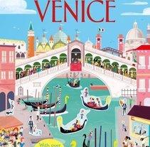 First Sticker Book Venice (Usborne). Un proyecto de Ilustración de Fermín Solís - 12-05-2016