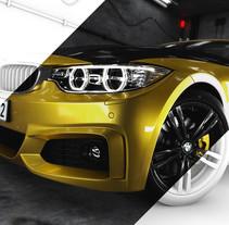 BMW M4. Um projeto de 3D, Design de automóveis e Pós-produção de Alberto Luque - 22-05-2016