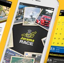 App CircuitoJarama. A UI / UX, Graphic Design&Interactive Design project by Niko Tienza         - 05.09.2015
