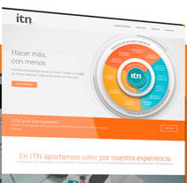 Web ITN Naser. A UI / UX, Graphic Design, Interactive Design, and Web Design project by Niko Tienza - 24-08-2015