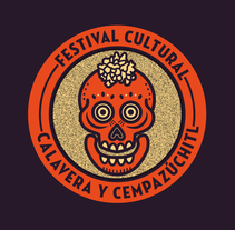 Festival Calavera y Cempazúchitl. A Art Direction, Br, ing, Identit, and Graphic Design project by Alan Mendoza - May 27 2016 12:00 AM