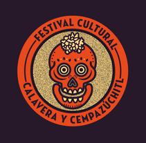 Festival Calavera y Cempazúchitl. Um projeto de Direção de arte, Br, ing e Identidade e Design gráfico de Alan Mendoza - 26-05-2016