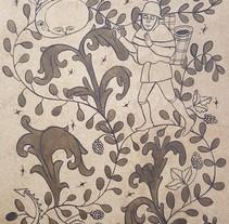 La vida en la Edad Media. Un proyecto de Ilustración de Nerea Guinea Eguiguren         - 29.05.2015