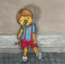 Pinocho. Un proyecto de Ilustración y Diseño editorial de marcela hattemer - 02-06-2016