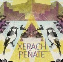"""Xerach Peñate, """"Tizziri"""". A Illustration project by Daniel Gutiérrez Pérez         - 12.06.2016"""