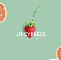 JUICYPRESS Juicery bar & more. A Design, Photograph, Art Direction, Br, ing, Identit, Graphic Design, and Product Design project by perla valencia hernández - Jun 16 2016 12:00 AM
