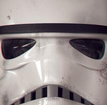 Casco Stormtrooper. Un proyecto de 3D de Ignacio Sagrario         - 17.06.2016
