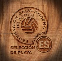Selección Nacional de Fútbol Playa de El Salvador. A Graphic Design, and Social Media project by Wiljanden Miranda         - 23.03.2016