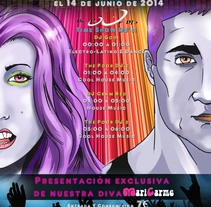 Cartel Publicitario. Um projeto de Publicidade, Br, ing e Identidade e Design gráfico de Jonatan López         - 13.06.2014