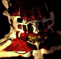 Antonio el demonio 3D. A 3D, Animation, and Fine Art project by alberto martinez romero         - 19.11.2015
