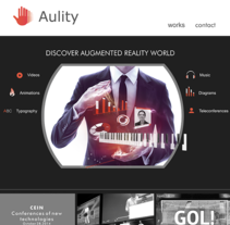 AULITY // Web design. A Web Design project by Enedeache  - 20-06-2016