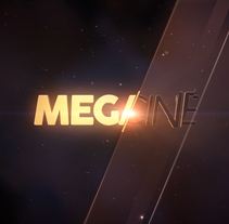Paramount Channel MEGACINE . A 3D, Animation, Br, ing, Identit, Art Direction, Motion Graphics, and VFX project by Eugenia Martinez Barbazza - Jun 25 2016 12:00 AM