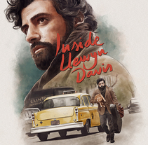Inside Llewyn Davis. A Illustration, and Film project by Ignacio RC  - 26-06-2016