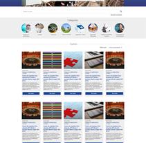 Tuvnord Formación. Un proyecto de UI / UX, Dirección de arte y Diseño Web de Pilar García - 04-07-2016