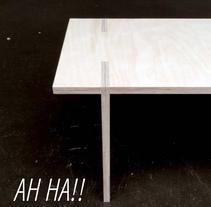 AH HA. A Furniture Design&Industrial Design project by Andres Gonzalez         - 04.07.2016