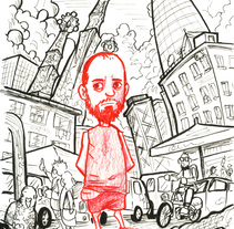 Barcelona y yo. A Illustration project by Daniel Torrado Medina - 05-07-2016