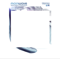 Mainwave . A Design, and Web Development project by Frank Font - 07-07-2016