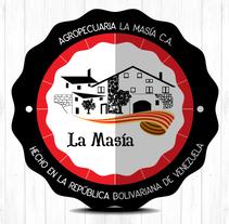 Agropecuaria La Masía. Um projeto de Direção de arte, Br, ing e Identidade e Design gráfico de Ernesto Azkue Pérez - 09-07-2016