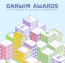Infografía: Premios Darwin. Un proyecto de Ilustración, Diseño gráfico e Infografía de Pablo Cabrera Rodríguez - 11-07-2016