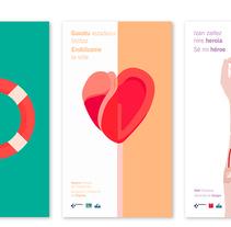 Diseño de campaña de donación. Un proyecto de Publicidad, Diseño editorial y Diseño gráfico de Maite Gutiérrez - Sábado, 09 de abril de 2016 00:00:00 +0200