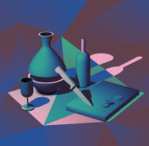 Nature Morte. A Illustration project by David Pocull - Jul 25 2016 12:00 AM