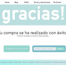 Probando con thank you page. Um projeto de UI / UX de Oriol Casas Martínez         - 28.07.2016