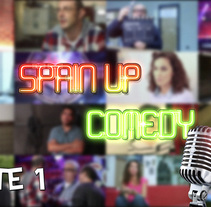 Spain Up Comedy | Parte 1. A Film, Video, TV, Video, and TV project by Pedro Herrero Sarabia         - 05.08.2016