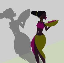 Morenasas. Un proyecto de Ilustración de Mónica Hernández         - 14.08.2016