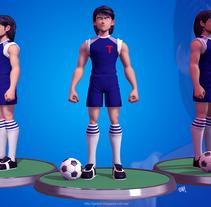 Kojiro Hyuga. Um projeto de 3D e Design de personagens de gesiOH         - 16.08.2016