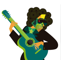 Calamaro (Proyecto). A Illustration, Graphic Design, and Packaging project by Silvina Alfonsín Nande - 09-04-2011