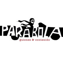 Logotipo Parábola Guiones & Contenido. A Design&Illustration project by carmela usoz otal - Aug 21 2016 12:00 AM