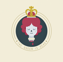 The Queen Is Dead. A Illustration project by Eva Mez         - 21.08.2016