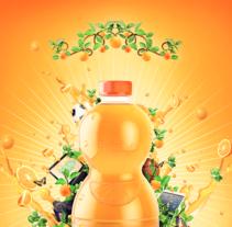 Orange Juice Vk16. Um projeto de Design, Publicidade e Direção de arte de Vikö Sviäs         - 21.05.2014