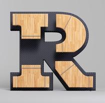Letras. Un proyecto de Diseño, 3D, Diseño gráfico y Tipografía de renerene         - 28.08.2016