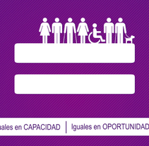Empleo y Discapacidad 2013 - Imagen y Material Gráfico. Un proyecto de Diseño, Diseño editorial y Diseño gráfico de Nuria Muñoz - 29-08-2016