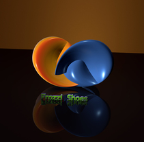 Logos 3D. A Design, Advertising, 3D, and Graphic Design project by Manuel Gómez P.         - 03.09.2016