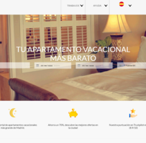 Pagina web realizada para ventas o alquiler de pisos.. Un proyecto de Diseño Web de Emilio Jesús Pérez Pileta         - 09.07.2016
