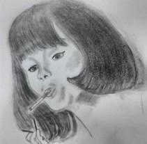 Ilustraciones propias años 70. A Illustration project by Lucía Bretón - 05-09-2016